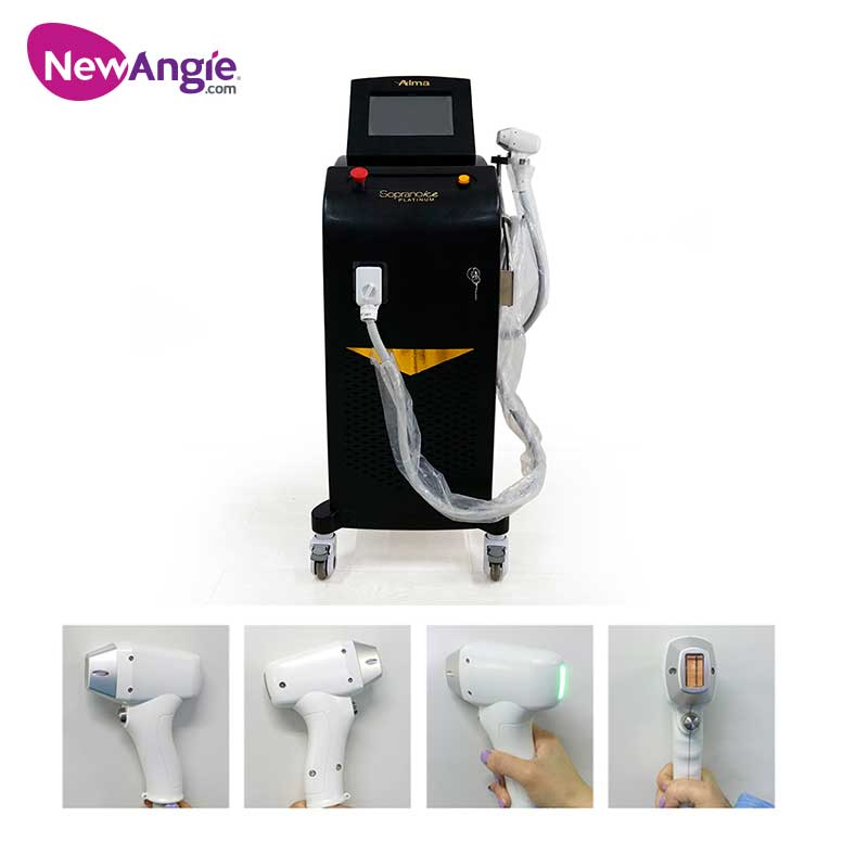 Beauty Clinic 808nm Diode Laser Hair Removal Machine Microchannel