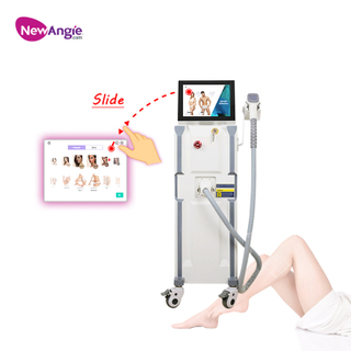 Android System Slide Screen Operation 810 808 Diode Laser Hair Removal Machine BM107