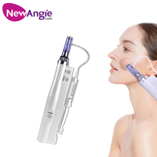 Professional Meso Injector Mesotherapy Gun Electric Water Light Needle Pen for Skin Rejuvenation GL1