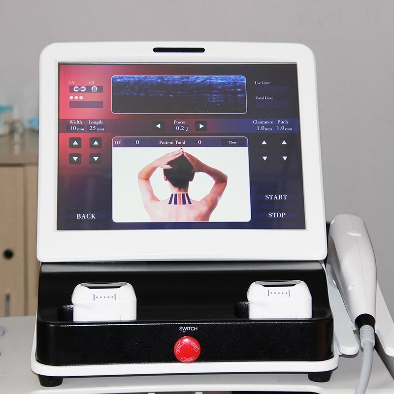Hifu High Intensity Focused Ultrasound Machine Wrinkle Removal New Anti Ageing